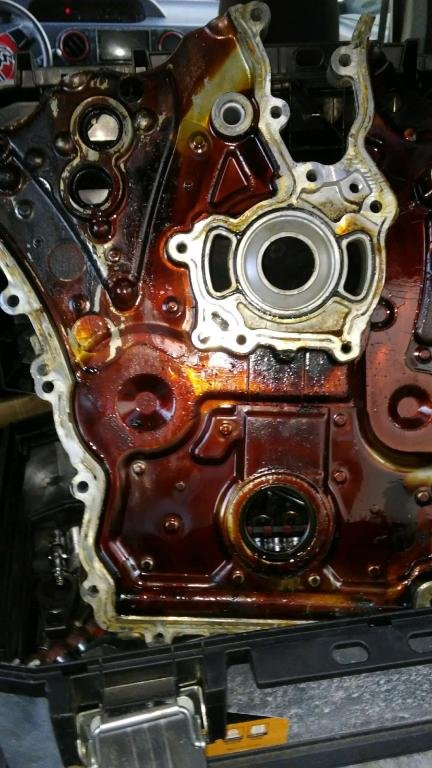 20180626 191603 well I did the bulliton that GM had posted what I believed happend was when I cleaned all the oil scum off I may had warped the metal