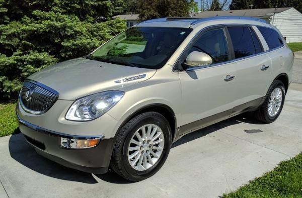 Showcase cover image for MONK's 2010 Buick Enclave CXL