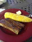 ribs 2 and corn plated and ready to chow down on.jpg